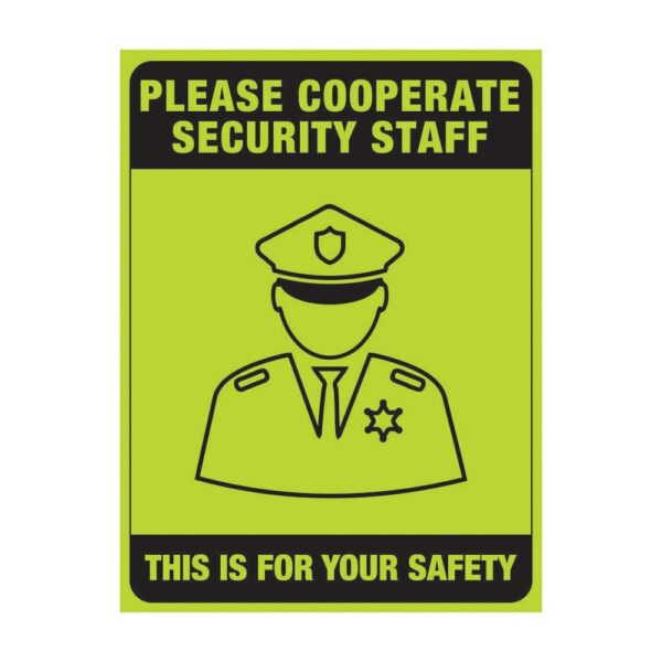 Please Corporate Security Staff Green